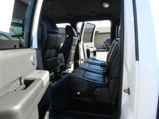 Ford Crew Cab Powerstroke Diesel Lariat 4x4 Custom New Lift Wheels Tires Auto