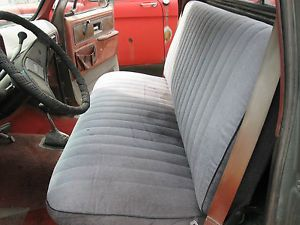 1977 Chevrolet Pickup Truck Front Bench Seat