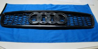 Audi A4 B5 S4 RS4 s Line Style Front Black Mesh Grill Grille
