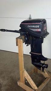 Evinrude 9 9 HP Outboard Motor Boat Engine 5 10 15 20 Short Shaft Manual Start