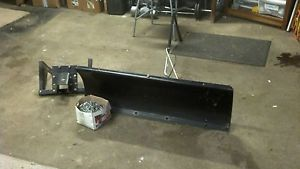 Craftsman Lawn Tractor Snow Plow with Tire Chains