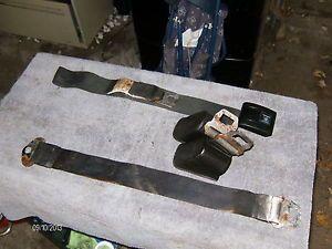 Camaro Black Seat Belts