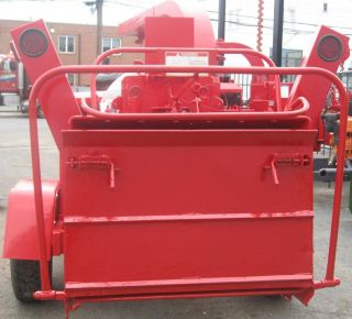 2003 Woodchuck Hyroller 1200 Wood Chipper 82 HP Deutz Diesel Red