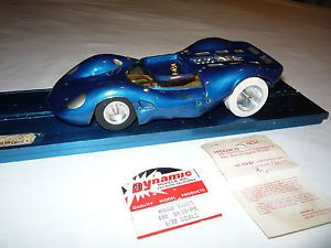 Vintage 60s Monogram Brass Chassis 1 24 Slot Car Tires and Wheels