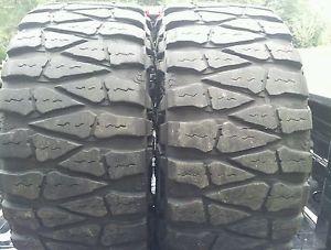 2 33x12 50x18 Nitto Mud Grappler Tires 33x12 50R18 33 inch M T 33 12 50 18