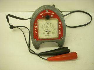 Vintage Antique 'Pistol Grip' Primary Dwell Meter Snap On