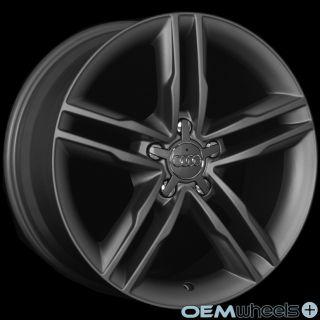 """18"""" Gunmetal s Line Style Wheels Fits Audi A8 A8L S8 D2 D3 D4 W12 Quattro Rims"""