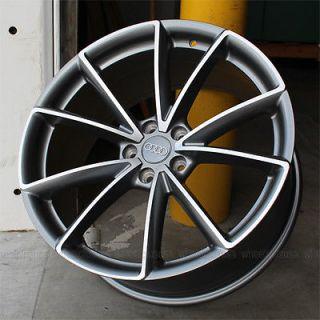 """Set 4 19"""" 19x8 5 RS4 Style for Audi A4 A6 A8 S4 S6 Q5 Wheels Rims 5x112 ET35"""