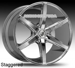 """22"""" Lexani R Six for Land Range Rover Wheels and Tires Rims HSE Sports"""
