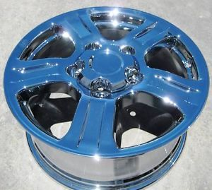"Set of 4 New Factory Toyota 18"" Tundra Sequoia Chrome Wheels Rims 69517"