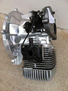 Yamaha G1 Gas Engine Cylinder Head Block Fuel Pump Golf Cart