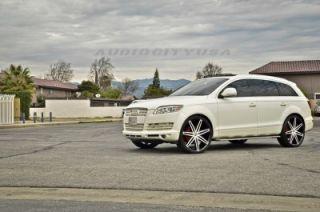 "22"" Lexani Johnson BM for Land Range Rover Wheels and Tires Rims HSE Sports"