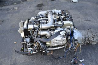 Nissan Skyline GTS T r33 RB25DET Engine Transmission 5 Speed s14 RB25 sr20 JDM
