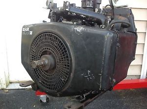 John Deere 317 Garden Tractor 18HP Kohler Magnum Horizontal Shaft Engine M18QS