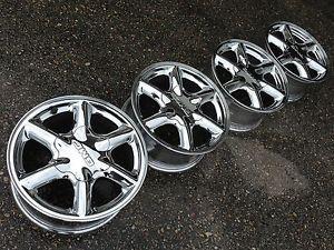 "16"" GMC Sierra Yukon Denali Silverado Tahoe Factory Stock Chrome Wheels Rims"