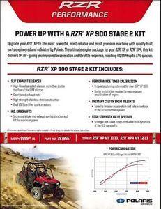 2011 2012 2013 Polaris RZR 900 XP Stage 2 Kit 2879557