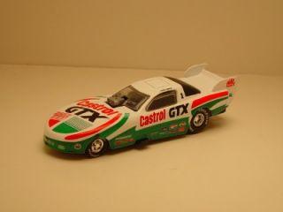 "Action John Force ""Castrol GTX"" '95 Pontiac Funny Car NHRA Dragster w RRs"