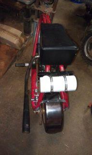 Vintage Minibike Part Mini Bike Gas Tank Mount Holder Rupp Cat Bozo