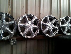 4 16x7 Cadillac Escalade Wheels Rims 16 inch 1999 2000 99 00 Chrome
