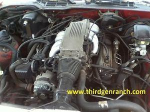 Chevy 350 TPI Engine 82 92 Camaro Firebird Runs Great