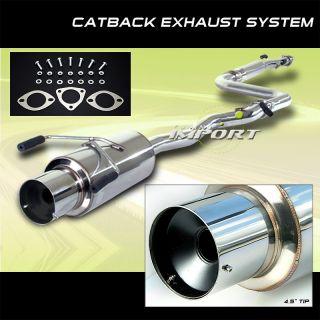 1990 1993 Honda Accord 2 4 Dr High Performance Catback Exhaust Muffler System