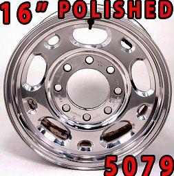 GMC Sierra Yukon Chevy 2500 3500 GM 16 HD 8 Lug Chrome Wheel Rim 5079 1 Rim