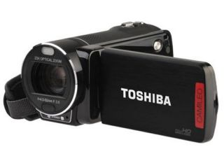 Toshiba Camileo X400 Full HD Camcorder Black 3 0 16 9 Touchscreen Brand New 4026203906891