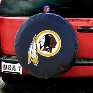Washington Redskins NFL Heavy Duty Black Vinyl Spare Tire Cover