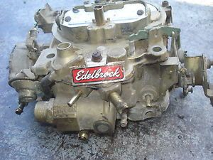 Edelbrock Performer Quadrajet 795 800 CFM Carburetor Carb