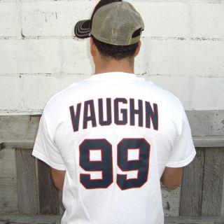 Rick Vaughn Wild Thing Jersey T Shirt Charlie Sheen