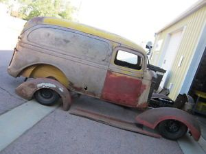 37 1937 GMC Chevy Panel Delivery Truck 1 2 Ton T 14 A Parts Donor Rat Rod