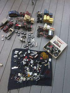 Lot of 7 Vintage Model Kit Semi Truck Junkyard Parts