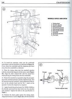 Suzuki 9 9 70HP Outboard Motor Engine Repair Manual