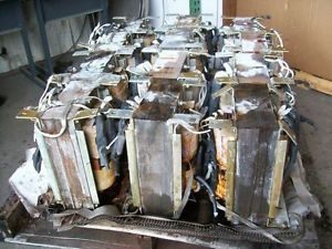 2260 lbs of Scrap Transformer Power Coils for Copper Recovery