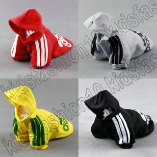 For Small Dogs New Hoodie Sweater T Shirt Pet Puppy Dog Cat Coat Clothes