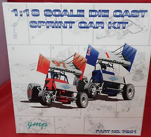 GMP 1 18 Scale Die Cast Sprint Car Kit