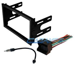 ★ VW Car Stereo Radio Kit Dash Installation Mounting Trim Bezel Wiring Harness ★