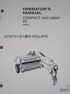 New Holland TC35 TC40 TC45 Tractor Operators Owners Manual 86587297