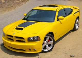 2006 2010 Charger SRT8 Style Functional RAM Air Hood Body Kit