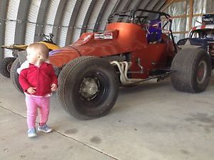 Vintage Sprint Car Trostle Kit Car