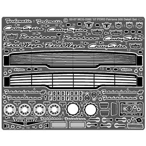 Model Car Garage 2282 1957 Ford Fairlane 500 Detail Set for AMT Kit