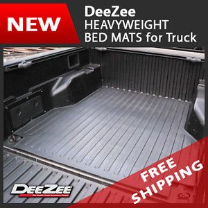 Dee Zee Heavyweight Rubber Truck Bed Mat for Chevy Silverado GMC Sierra 6 5'