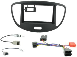 Hyundai i10 2008 Car Stereo Double DIN Radio Replacement Fitting Kit CTKHY01