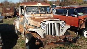 Willys Jeep 4x4 Pickup Truck Rat Rod Parts Vehicle