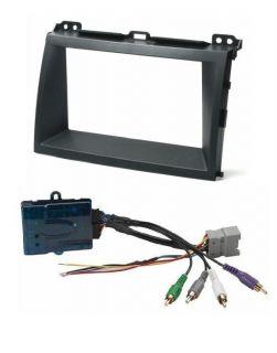 Aftermarket Double DIN Radio Kit JBL Premium Sound System Integration Harness