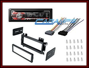 ★pioneer Car Stereo CD Player Radio w Dash Kit Wiring Harness Install Kit ★