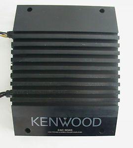 1 Vintage 80s Kenwood Amp KAC 9020 Power Amplifier Old School Stereo Car Audio