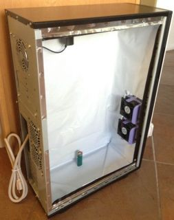 PC Grow Box LED Stealth Hydroponic Computer Plant Grow Kit System