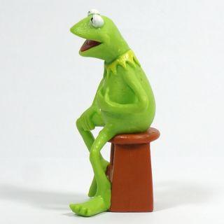 "Sesame Street Kermit The Frog Figure Figurine Green 6 5cm 2 6"""