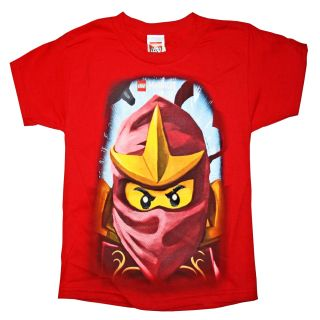 Lego Ninjago Kai Boys T Shirt s 6 7 Red